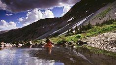 Conundrum Hot Springs - 8.5 hike to natural hot springs in Maroon Bells