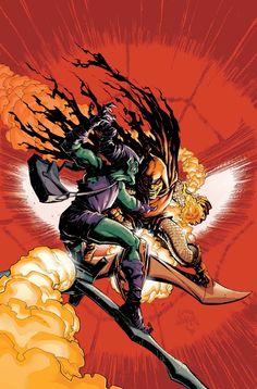 The Green Goblin vs. The Original Hobgoblin