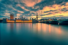 Houses of Parliament, London by hessbeck-fotografix on deviantART
