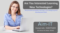 If yes is the answer to those questions, AIM-IT skill development training institute and multimedia courses will help to you! We provide successful training in the designing and development field.  #multimedia_animation #multimedia_training_institute_in_noida #web_design   Contact- 01204712204