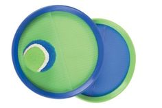 Halex Stick-Ums Toss Game (colors may vary) by Halex. $8.99. Amazon.com                Kill time the entertaining way with this Halex Stick-Ums toss game. A great game indoors or out, the Stick-Ums game comes with two handheld disc paddles with self-stick construction, along with a felt stickball. To play, simply toss the ball between the two mitt-like paddles, each of which includes a hand band to keep it place. The ball is softer than traditional balls, so it's less likely to b...
