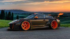 "Porsche Hurricane"" Concept Art Created byMaher Thebian"