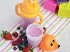 Toddler Fruit Smoothies | Once A Month Meals | Freezer Cooking | OAMC