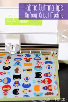 Tips for Cutting Fabric with a Cutting Machine
