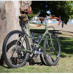 """430 Likes, 1 Comments - Stanforth Bikes (@stanforthbikes) on Instagram: """"Custom Kibo Dirt Drop build by @cycleexif #biketouring #expeditionbike #touringbike #26er…"""""""