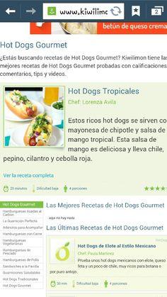 Hot dog tropical