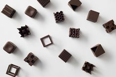 Chocolatexture by Nendo | Daily Icon