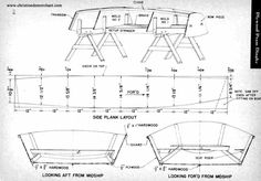Boat Plans - free pram plans - Master Boat Builder with 31 Years of Experience Finally Releases Archive Of 518 Illustrated, Step-By-Step Boat Plans Wooden Boat Building, Wooden Boat Plans, Boat Building Plans, Building Ideas, Plywood Boat, Wood Boats, Plywood Projects, Naval, Jon Boat