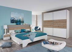Apportez une touche moderne et lumineuse dans votre intérieur grâce à la chambre adulte contemporaine Nahel.