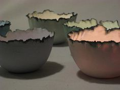 Kerry Hastings Ceramics - Tea Lights