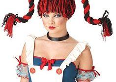 California Costumes Rag Doll Wig