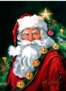 Save on Santa Clause canvas wall art. Save on Santa Clause canvas wall art. Christmas Artwork, Christmas Paintings, Christmas Scenes, Christmas Pictures, Vintage Santas, Vintage Christmas, Santa Paintings, Image Halloween, Illustration Noel