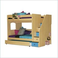 Bunk Bed with Trundle, Bunk beds with Trundle   Cymax.com