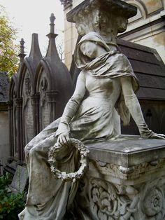 Montmartre Cemetery, Paris.