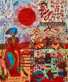 Hussein Salim African Artists, Ceramics, Painting, Ceramica, Pottery, Painting Art, Paintings, Ceramic Art, Painted Canvas