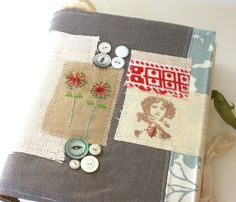 Art Quilt Journal Young at Heart by rebeccasower on Etsy