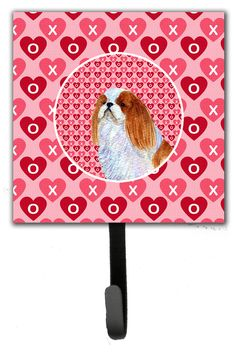 English Toy Spaniel Leash Holder and Wall Hook