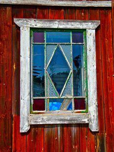 window in Sweden.