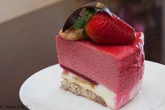 Коллекция Рецептов - Торт -мусс с белым шоколадом и малиной