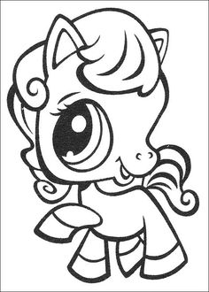 coloring page Littlest Pet Shop - Littlest Pet Shop