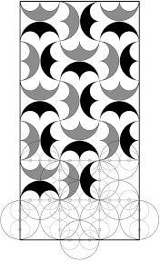 Resultado de imagen de circunferencias lobuladas de 8 partes iguales