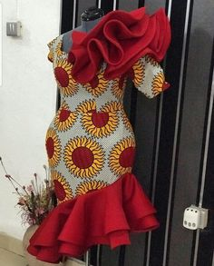 Check out unique latest ankara styles for ladies. What's not to love about ankara styles? They are simply gorgeous and can make. African Dresses For Kids, Latest African Fashion Dresses, African Dresses For Women, African Print Dresses, African Print Fashion, Africa Fashion, African Attire, Ankara Fashion, African Hair