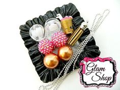 Shopkins Necklace Kit Berry Smoothie Mystery Box by GlamShopBeads