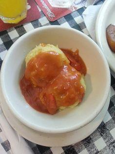 Fungi with Creole Sauce - Gladys' Cafe