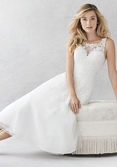 Kenneth Winston: Ella Rosa Collection BE3872 Ball Gown Wedding Dress