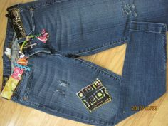 Hey, I found this really awesome Etsy listing at https://www.etsy.com/listing/112957994/patchwork-custom-made-jeans