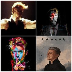 David Bowie (1947 - 2016) / The world lost another star yesterday with the passing of David Robert Jones, also known as David Bowie. The 69-year-old died just two days after his birthday and the release of his latest album, Blackstar. We've decided to make an open list from the artistic tributes to Bowie that have been popping up all over the Internet. You can pay your respects by submitting your artwork too ....