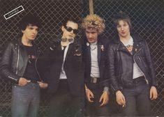 The Damned - Brian James, Dave Vanian, Captain Sensible, Rat Scabies