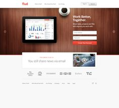 Flud Homepage by BASIC