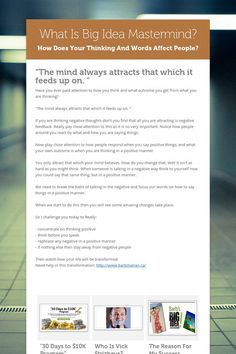 What Is Big Idea Mastermind and What Kind Of Mind Do You Have?