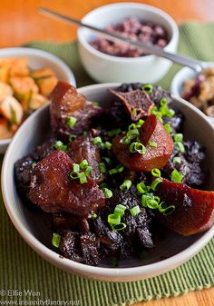 Korean Sweet Soy-Braised Oxtail, via Flickr.