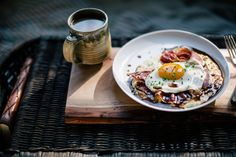 Grits Recipes Aren't Just For Breakfast Anymore (PHOTOS) - Goat Cheese Grits from Food52 has my mouth watering!