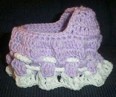 crochet bassinet purse pattern | Crocheted Cradle Purse | Flickr - Photo Sharing!