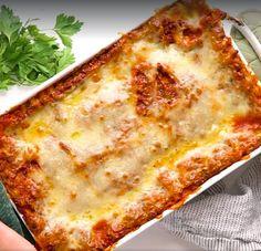 Confort Food, Pasta Recipes, Lasagna, Love Food, Food To Make, Steak, Spaghetti, Food Porn, Home