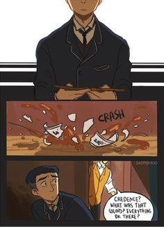 I'm convinced that Credence survived and is now living with Newt in the case, getting better, being taught magic, and helping take care of newts creatures.