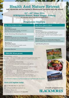 Health & Nature Retreat Trip to D'Hillpines Resort! |My Stories