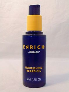Gillette Enrich Nourishing Beard Oil 50 ml (1.7 FL OZ) Mens Grooming Facial Care #Gillette Best Beard Oil, Cold Pressed Oil, Mens Facial, Beard Conditioner, Facial Care, Men's Grooming, Shea Butter, Bath And Body, Hair Care