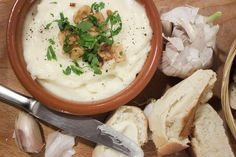 Alioli - spanish garlic mayonnaise