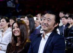 Li Na with her husband