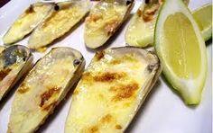 comida chilena - machas a la parmesana un plato delicioso de mi país.....riquisimo.