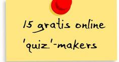 Edu-Curator: Met deze 15 'quiz'-makers maak je leuke quizzen voor jouw groep