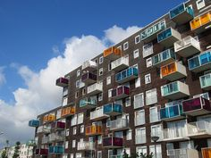 WoZoCo Apartments - Amsterdam, The Netherlands;  photo by sneuert, via Flickr