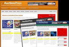 AuctionPress Wordpress Auction Theme | Auction Wordpress Template