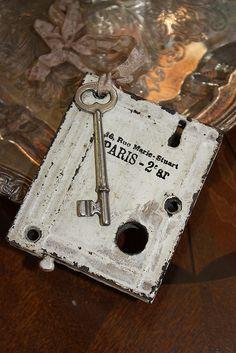 Vintage Lock & Key