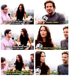 HAHAHAHAHA. Jennifer Lawrence  Bradley Cooper. |   See More about jennifer lawrence.