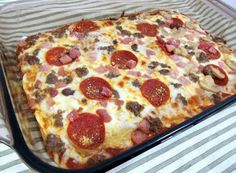 yummy recipes: NO DOUGH PIZZA